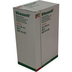 VLIWAZELL Saugkompressen 15x20 cm steril:   Packungsinhalt: 30 St Kompressen PZN: 05855611 Hersteller: Lohmann & Rauscher GmbH & Co.KG…