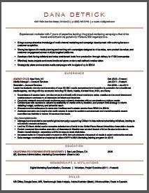 marketing resume brooklyn resume studio resumes career