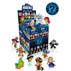 #Christmas Order now Funko Disney Heroes vs Villians Mystery Minis Mystery Box for Christmas Gifts Idea Stores . On a yearly basis you will find warm fresh  Christmas Toys which have been introduced through Christmas Toys firms all year round. When getting ready to purchase a fresh Christmas Toys on your little ...