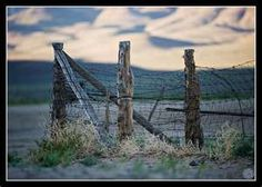 Winnemucca Ranch - Fence  This is a classic western fence