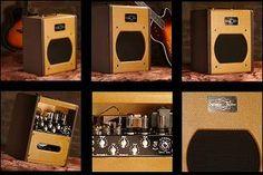 Atomic Space Tone ~ All tube 20w 6V6/6L6 amplifier by swart amplifier co