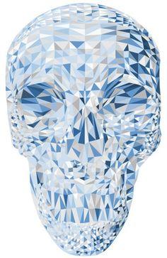 Piccsy :: Blue Skull