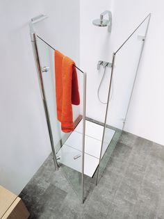 Find out all of the information about the FLAMINIA product: swing shower screen BAMBOO: by Ludovica & Roberto Palomba. Shower Enclosure, Shower Tub, Shower Cabin, Shower Cubicles, Shower Screen, Kabine, Shower Systems, Cabin Design, Better Homes