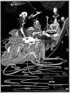 harry clarke for e.a.poe