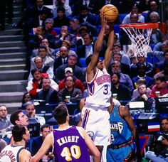 In honor of Allen Iverson's 40th birthday,check out 40 dope action shots…