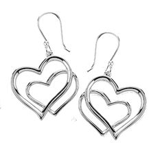 Tianguis Jackson Silver Double Heart Earrings http://www.qualitysilver.co.uk/Jewellery/Tianguis-Jackson-Silver-Drop-Earrings.html