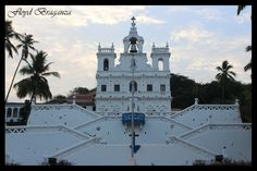 Panjim Church in by Floyd Braganza Goa, Shades, Mansions, Facebook, House Styles, Building, Photography, Travel, Photograph