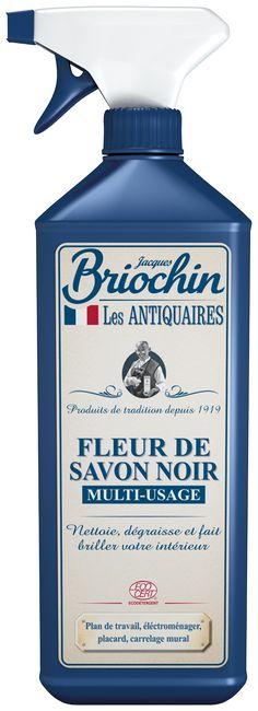 Fleur de Savon Noir Multi-usage Les Antiquaires par Briochin