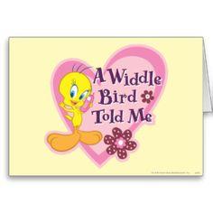 tweety_a_widdle_bird_told_me_card-r0e676fcbc72e4d44826417e49d2affde_xvuak_8byvr_324.jpg (324×324)