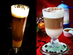 Latte Macchiato, Pint Glass, Beer, Tableware, Gadgets, Ale, Dinnerware, Dishes, Place Settings