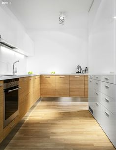 Modern kitchen with timber cabinetry