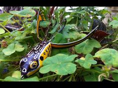 DIY - Fishing - How to make Frog Lure from Cork with Rubber Legs(6) - Ếch Lure chân cao su - YouTube
