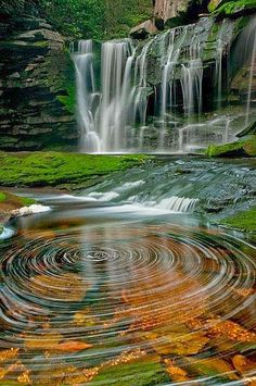 Black Water Falls, West Virginia