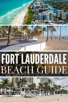 Fort Lauderdale Beach Guide and our Top things to do in Fort Lauderdale Guide. Relax on the best beaches in Fort Lauderdale from Las Olas Beach, Fort Lauderdale Beach, Deerfield Beach to Lauderdale-by-the-sea in the North of Fort Lauderdale. Not far is the popular boardwalk at Hollywood Beach. Go downtown and walk the riverwalk to Las Olas beach.