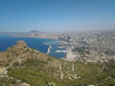 """Vue depuis """"Santa Cruz"""", Oran, Algérie"""