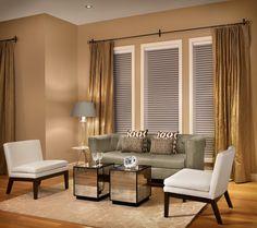 Three window curtain idea