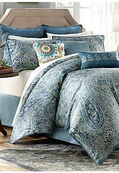 Master bedding:  Harbor House Belcourt Bedding Collection