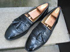 J. Murphy Johnston & Murphy Black Dress Loafers 10 M #JohnstonMurphy #LoafersSlipOns