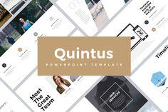"""다음 @Behance 프로젝트 확인: """"Quintus Minimal PowerPoint Template"""" https://www.behance.net/gallery/37328901/Quintus-Minimal-PowerPoint-Template"""