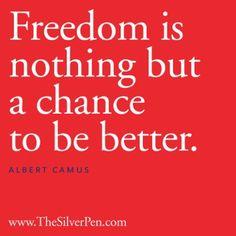 Albert Camus #IndependenceDay