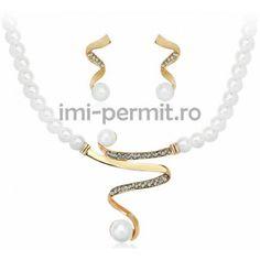 Set bijuterii cu design modern si elegant