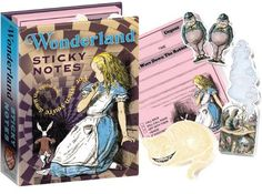 Alice in Wonderland Notes for fans of Alice in Wonderland