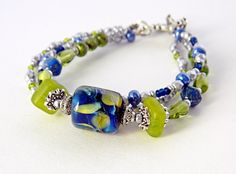 Hey, I found this really awesome Etsy listing at https://www.etsy.com/il-en/listing/250018779/blue-green-glass-bead-bracelet