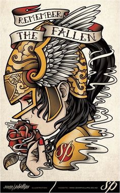 Discover the meaning of Sailor Jerry's famous old school tattoos from . - Discover the meaning of Sailor Jerry's famous old school tattoos from … - Wolf Tattoos, Forearm Tattoos, Finger Tattoos, Body Art Tattoos, New Tattoos, Girl Tattoos, Sleeve Tattoos, Dragon Tattoos, Flash Tattoos