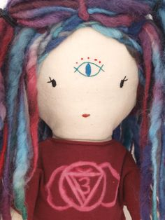 Close-up of Vidia Doll by Lily Blaise