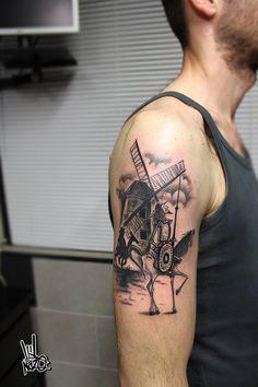 Don quixote tattoo