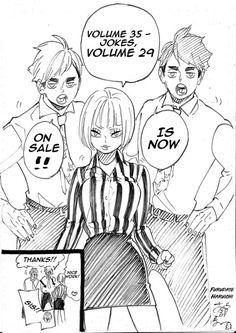 Haikyuu Funny, Haikyuu Manga, Haikyuu Fanart, Manga Anime, Drawing Ideas List, Haruichi Furudate, Haikyuu Volleyball, Anime Family, Lovely Creatures