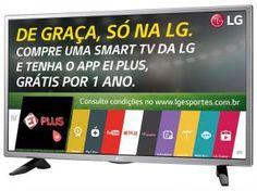 """A SmartTV LED 32"""" LG 32LH570B é a Top TV de 32"""" Melhor Avaliada. Ideal para ver seus melhores Programas de TV, Série do Netflix e os Maiores Lançamentos de Filmes  de HollyWood."""