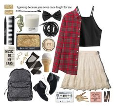 """I gave up because you never once fought for me"" by hengstler2013 ❤ liked on Polyvore featuring Abercrombie & Fitch, H&M, Uniqlo, Madewell, Agent Ninetynine, Forever 21, Kate Spade, Trish McEvoy, NARS Cosmetics and ASOS"
