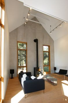 Built by YH2 Architecture in Grande-Anse, Canada With simple, spare lines inspired by the vernacular architecture of the Maritimes, the structure is composed of two w...
