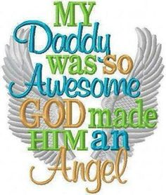My Dearest Darling Daddy Tom Furlong joined the angels on the 12th June 2013, he was my hero, my heart, my world x x