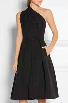 Preen by Thornton Bregazzi   Athena one-shoulder stretch-crepe dress   NET-A-PORTER.COM