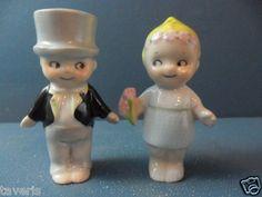 Old Salt Pepper Shaker 1930 Kewpie Googly German Porcelain   eBay