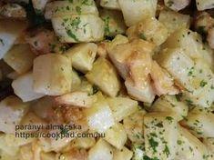 Diétás brassói zellerből (fázisfotókkal) Potato Salad, Food And Drink, Potatoes, Baking, Health, Ethnic Recipes, Cook, Health Care, Bakken