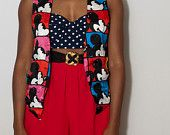$12.00 vintage  Mickey Mouse Vest **SOLD**