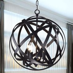 Wellyer Inc. Santorini 4-Light Foyer Pendant