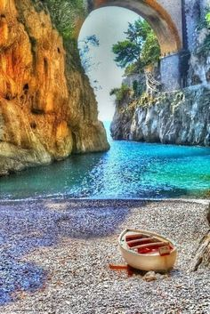 Fiordo di Furore, Amalfi Coast, Italy retouched
