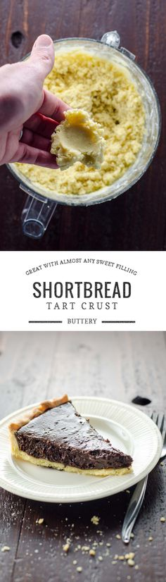 This buttery shortbread crust makes a delicious bed for a wide variety of sweet fillings, from curds to custards to berries and more.