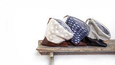 Leather clutch Foldover clutch Lace bag Travel bag Ikat bag Clutch bag Clutch purse Makeup bag Zippered pouch Ipad case Handbag (139.00 USD) by eclu
