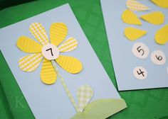 Flower Math Activity