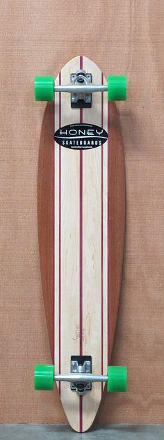 "Honey 42"" Carver Longboard Complete"