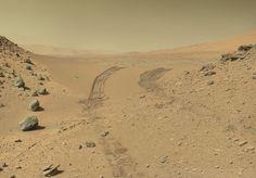 Mars. In true colour