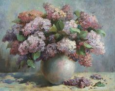 Lilac, Painting, Art, Art Background, Painting Art, Kunst, Syringa Vulgaris, Paintings, Performing Arts