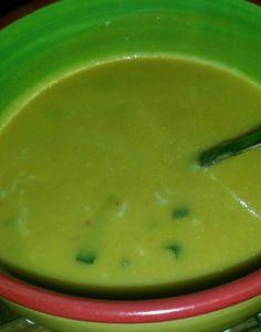 gembersoep.... gember,wortel,ui,knoflook,rode peper,aardappels,bosui,room,groenteboillon,parmazaanse kaas.
