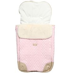 Young Versace - White Quilted Travel System | Childrensalon