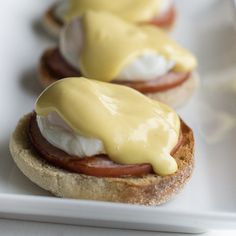 How to Make Eggs Benedict Easily. Find this and other How-To food processes from food artisans around the world at our website, Yum Goggle.